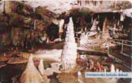Grotte De La Liberte De Demänová,chip Carte, Slovaquie - Slovaquie