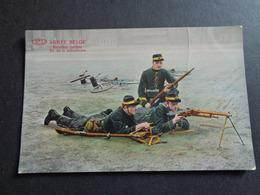 Armée ( 42 ) Belge  :  Mitrailleuse   - Bataillon Cycliste - Manovre