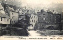 Luxembourg - Le Pont Sur L' Alzette-Grund - Edit. D.V.D. N° 10082 - Luxembourg - Ville