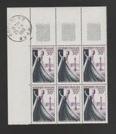 """FRANCE / 1953 / Y&T N° 941 ** : """"Métiers D'art"""" (Haute Couture) X 6 En CdF) - Gomme D'origine Intacte - France"""