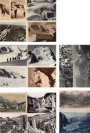 CP 05 Alpes La Vallouise Barre écrins Glacier Blanc Sagne Noire Blanche Col Emile Pic Lot 18 Cartes - Non Classés