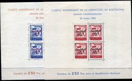 BARCELONA   Nº 53 / 54   Sin Goma -111 - Barcelona