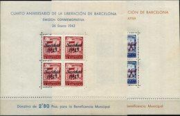 BARCELONA   Nº 53 / 54   Con Charnela -112 - Barcelona