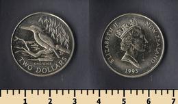 New Zealand 2 Dollars 1993 - New Zealand