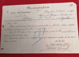 DOCUMENTO   4 OUTUBRO 1910 Ultimo Dia De Monarquia Em Portugal - Portugal