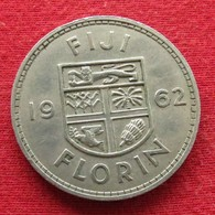 Fiji 1 One Florin 1962 KM# 24 - Fidschi