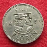 Fiji 1 One Florin 1962 KM# 24 - Figi