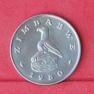 ZIMBABWE 20 CENTS 1980 -    KM# 4 - (Nº30551) - Zimbabwe