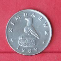 ZIMBABWE 20 CENTS 1989 -    KM# 4 - (Nº30552) - Zimbabwe