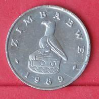 ZIMBABWE 50 CENTS 1989 -    KM# 5 - (Nº30554) - Zimbabwe