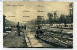 Italy Postcard Lombardia Pavia Lungo Naviglio 1900s By Rognoni - Pavia