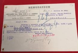 DOCUMENTO   7 Outubro 1910 MEMORANDUM - Portugal