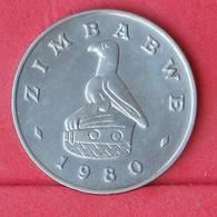 ZIMBABWE 50 CENTS 1980 -    KM# 5 - (Nº30555) - Zimbabwe