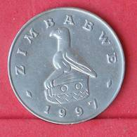 ZIMBABWE 50 CENTS 1997 -    KM# 5 - (Nº30556) - Zimbabwe