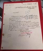 DOCUMENTO   8 Outubro 1910 FRED BAYER - Portugal