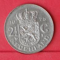 NETHERLANDS 2,5 GULDEN 1978 -    KM# 191 - (Nº30558) - [ 3] 1815-…: Königreich Der Niederlande