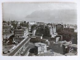 LAUSANNE (Suisse) - Vue Sur La Ville ( Publicité Philips ) , Lac Léman , Les Alpes / Montagne - VD Vaud
