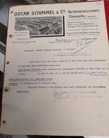 DOCUMENTO  5 SETEMBRO 1910 OSCAR SCHIMMEL GEBRAUCHSMUSTER - Portugal