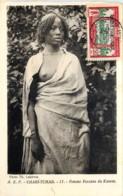 A.E.F. - Chari-Tchad - Femme  Fezzane Du Kanem - Tschad