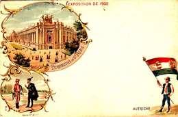 *CPA: EXPOSITION UNIVERSELLE 1900-AUTRICHE- RECTO - LITHOGRAPHIE - 1900 – Paris (France)
