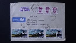 Poland - 1985/86 - Mi:PL 2986, Sn:PL 2628A, Yt:PL 2798 - Mi:PL 3049, Sn:PL 2757, Yt:PL 2859 On Envelope - Look Scan - 1944-.... Republik