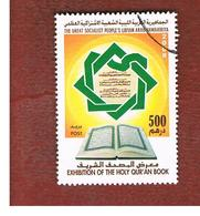 LIBIA (LIBYA) - MI 2929    -     2008 EXHBITION OF THE HOLY QUR'AN BOOK  500   -  USED - Libia