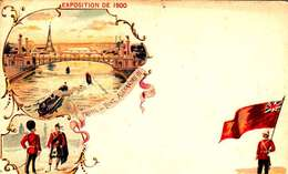 *CPA: EXPOSITION UNIVERSELLE 1900-GRANDE BRETAGNE - RECTO - LITHOGRAPHIE - 1900 – Paris (Frankreich)