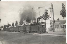 Photo - Thème Transport Tramway - TCRP - Paris - Ligne Paris Arpajon - Retour Venant Des Halles - Eisenbahnen