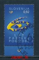 SLOWENIEN  Mi. Nr. 893  60. Jahrestag Der Gründung Der Europäischen Gemeinschaft Für Kohle Und Stahl - 2011 - Used - 2011