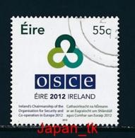 IRLAND Mi. Nr. 2002 Vorsitz Irlands In Der Organisation Für Sicherheit Und Zusammenarbeit In Europa - 2012 - Used - 2012