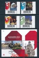 PORTUGAL Mi. Nr. 3713-3716, Block 329 Guimarães - Kulturhauptstadt Europas 2012 - Europa Mitläufer - 2012 - Used - Europa-CEPT