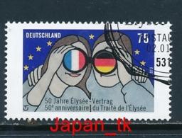 GERMANY Mi. Nr.  2977 50 Jahre Elysée-Vertrag über Die Deutsch-französische Zusammenarbeit- 2013 - Used - 2013