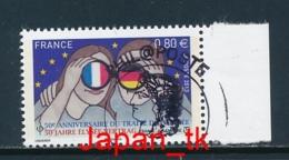 FRANKREICH Mi. Nr.  5479 50 Jahre Elysée-Vertrag über Die Deutsch-französische Zusammenarbeit- 2013 - Used - 2013