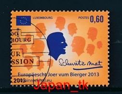 LUXEMBURG Mi. Nr.  1962 Europäisches Jahr Der Bürgerinnen Und Bürger - Europa Mitläufer - 2013 - Used - 2013