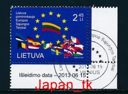 LITAUEN Mi. Nr.  1137 Vorsitz Litauens In Der Europäischen Union - Europa Mitläufer - 2013 - Used - 2013