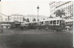 Photo - Thème Transport Tramway - TCRP - Paris - Ligne 8 - Gare De L'Est - Treni