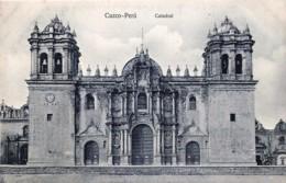 Peru - Cuzco - Catedral - Pérou