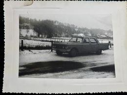 PHOTO ORIGINALE _ VINTAGE SNAPSHOT : VOITURE _ AUTOMOBILE _ SCENE De VIE - Automobili