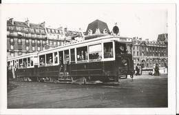 Photo - Thème Transport Tramway - TCRP - Ligne Montrouge Gare De L'ESt -Paris Place Saint Michel - Treni