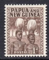 Papua New Guinea 1953-8 1d Buka Headdresses, MNH, SG 2 - Papua New Guinea
