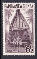 Papua New Guinea 1953-8 6½d Kiriwana Chief House, MNH, SG 7 - Papua New Guinea