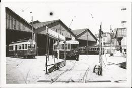 Photo - Thème Transport Tramway - TCRP - Paris - Dépot Des Tramways De Maisons Alfort - Val De Marne 94 - Trains