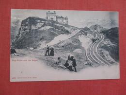 Rigi Kulm Und Die Alpen   Ref    3578 - Switzerland