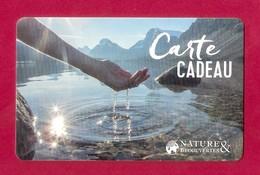 Carte Cadeau.  Nature & Découvertes.   Gift Card. - Cartes Cadeaux