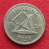 Fiji 1 One Shilling 1958 KM# 23 - Fidschi