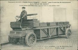 """54 NANCY / Camion à Avant-Train électrique """" Fram """" De La Ville De Nancy / - Nancy"""
