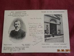 """CPA - Paris - """"Nos Conseillers"""" - Mairie Du VIIIe Arrondissement - M. Chassaigne-Goyon - Arrondissement: 08"""