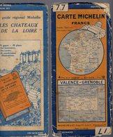 Carte Géographique MICHELIN - N° 077 VALENCE - GRENOBLE N° 2815-36 - Cartes Routières