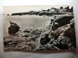 Carte Postale Croix De Vie (85) Corniche Vendéenne ( Petit Format Noir Et Blanc Circulée ) - Saint Gilles Croix De Vie