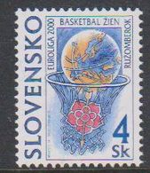 Slovakia 2000 Basketball Euroliga 1v ** Mnh (44403A) - Europese Gedachte